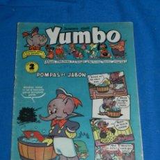 Tebeos: (M3) YUMBO AÑO I NUM 4 , EDT HISPANO AMERICANA , SEÑALES DE USO. Lote 162698014