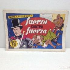 Livros de Banda Desenhada: MERLIN EL REY DE LA MAGIA - FUERZA CONTRA FUERZA - EDITORIAL HISPANO AMERICANA - ORIGINAL. Lote 163458870