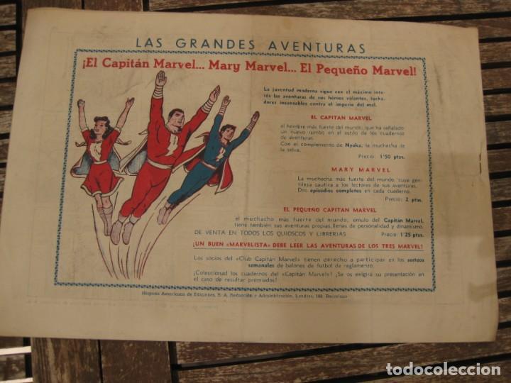 Tebeos: gran lote 67 el hombre enmascarado hispano americana de ediciones originales años 40 - Foto 7 - 164143534