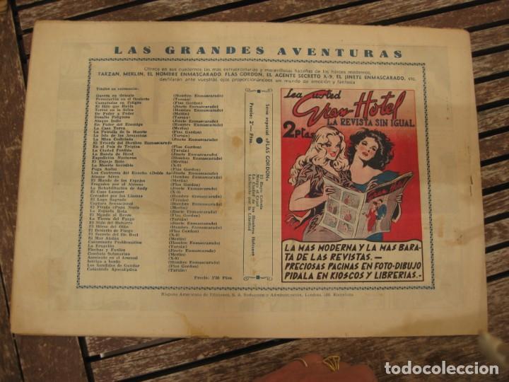 Tebeos: gran lote 67 el hombre enmascarado hispano americana de ediciones originales años 40 - Foto 34 - 164143534