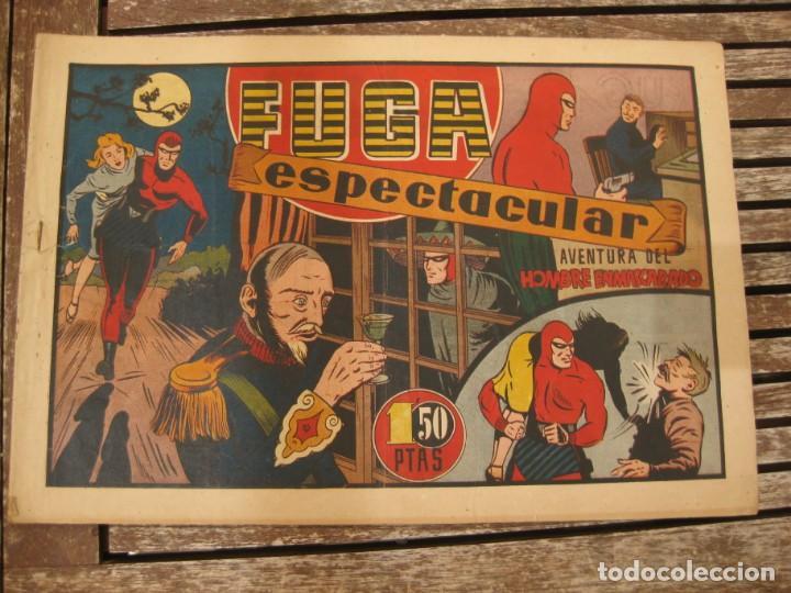 Tebeos: gran lote 67 el hombre enmascarado hispano americana de ediciones originales años 40 - Foto 42 - 164143534