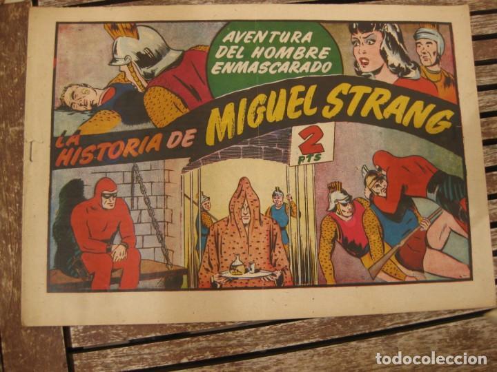 Tebeos: gran lote 67 el hombre enmascarado hispano americana de ediciones originales años 40 - Foto 44 - 164143534