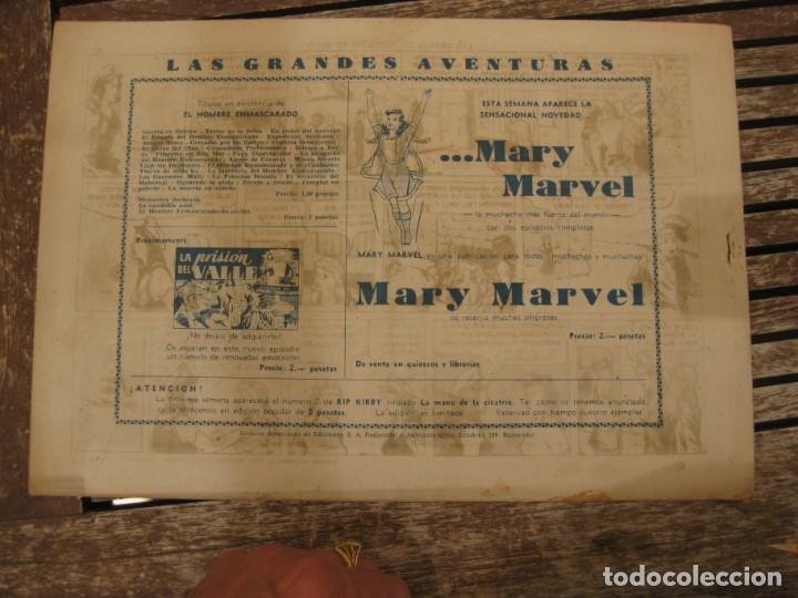 Tebeos: gran lote 67 el hombre enmascarado hispano americana de ediciones originales años 40 - Foto 47 - 164143534