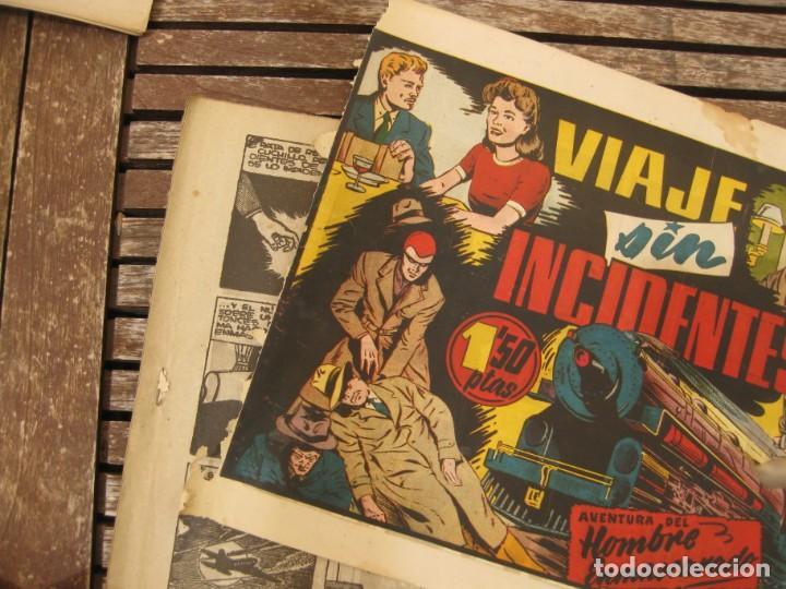 Tebeos: gran lote 67 el hombre enmascarado hispano americana de ediciones originales años 40 - Foto 49 - 164143534