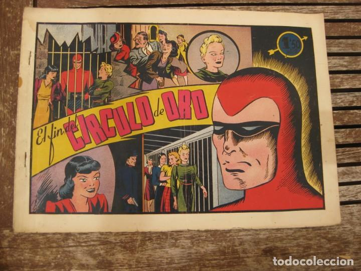 Tebeos: gran lote 67 el hombre enmascarado hispano americana de ediciones originales años 40 - Foto 53 - 164143534