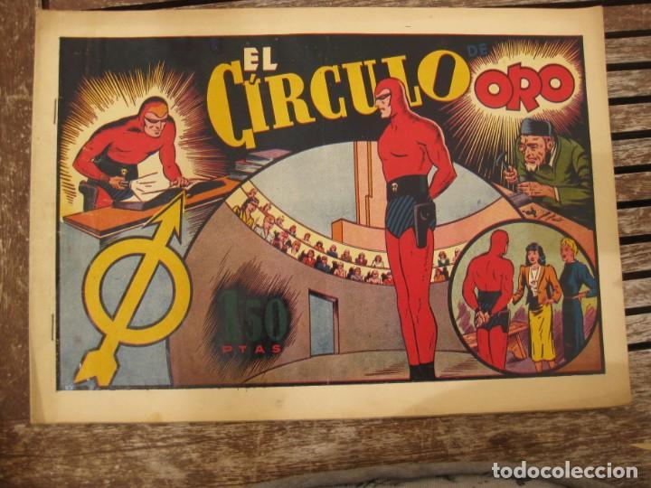 Tebeos: gran lote 67 el hombre enmascarado hispano americana de ediciones originales años 40 - Foto 55 - 164143534