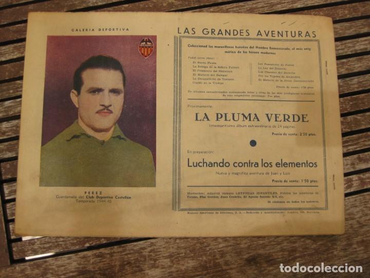 Tebeos: gran lote 67 el hombre enmascarado hispano americana de ediciones originales años 40 - Foto 56 - 164143534