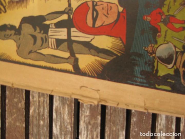 Tebeos: gran lote 67 el hombre enmascarado hispano americana de ediciones originales años 40 - Foto 66 - 164143534