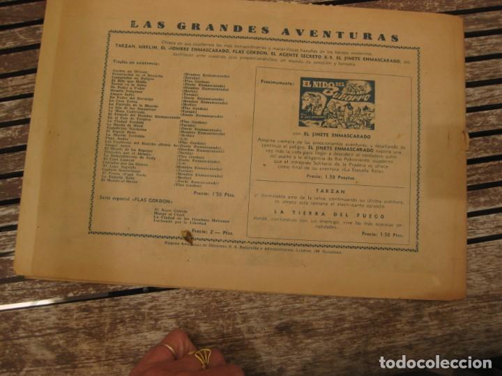 Tebeos: gran lote 67 el hombre enmascarado hispano americana de ediciones originales años 40 - Foto 67 - 164143534