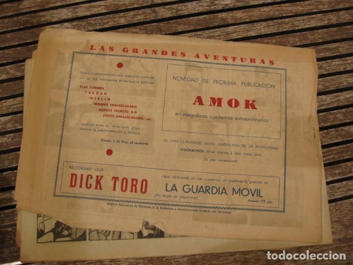 Tebeos: gran lote 67 el hombre enmascarado hispano americana de ediciones originales años 40 - Foto 70 - 164143534