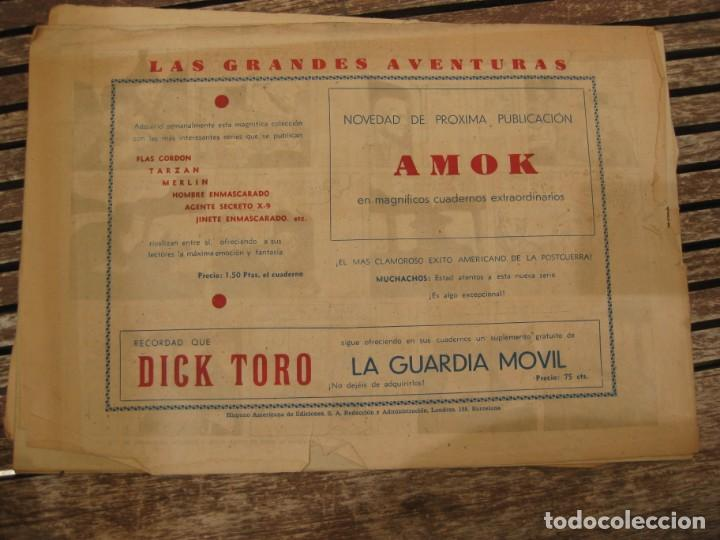 Tebeos: gran lote 67 el hombre enmascarado hispano americana de ediciones originales años 40 - Foto 71 - 164143534