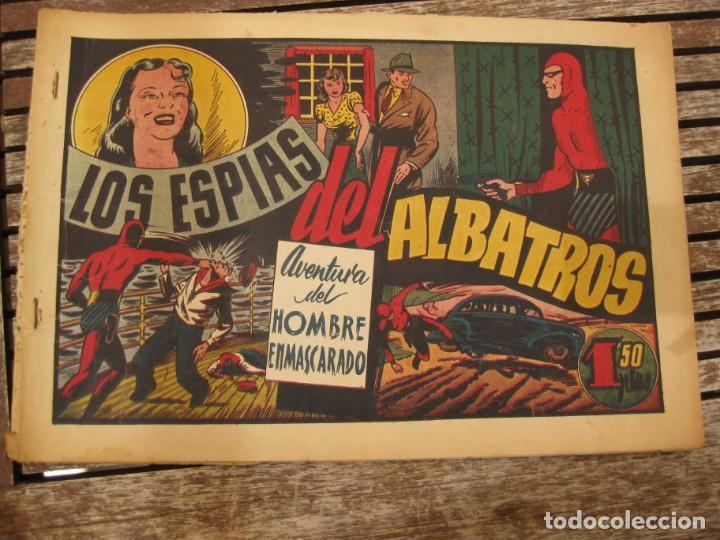 Tebeos: gran lote 67 el hombre enmascarado hispano americana de ediciones originales años 40 - Foto 74 - 164143534