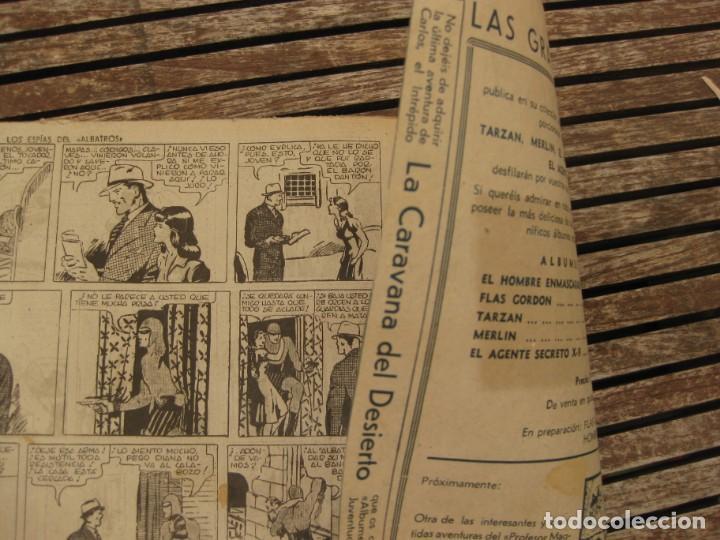 Tebeos: gran lote 67 el hombre enmascarado hispano americana de ediciones originales años 40 - Foto 76 - 164143534