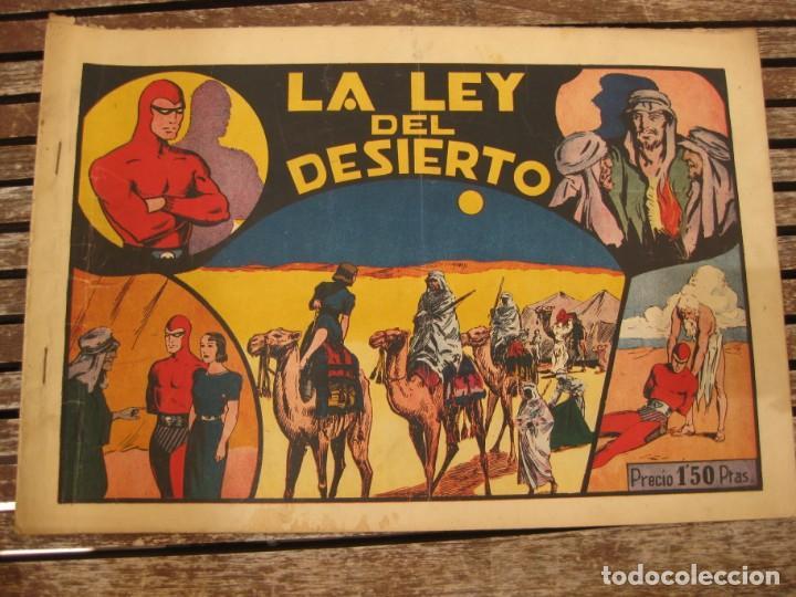 Tebeos: gran lote 67 el hombre enmascarado hispano americana de ediciones originales años 40 - Foto 81 - 164143534