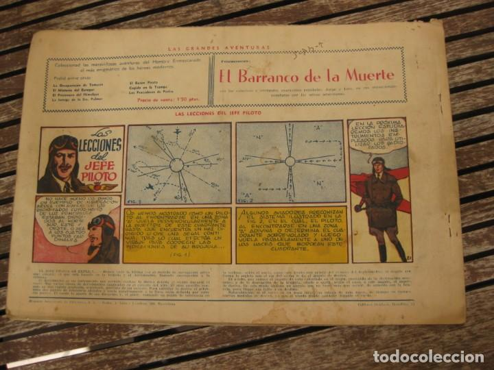Tebeos: gran lote 67 el hombre enmascarado hispano americana de ediciones originales años 40 - Foto 82 - 164143534