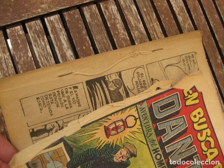 Tebeos: gran lote 67 el hombre enmascarado hispano americana de ediciones originales años 40 - Foto 88 - 164143534