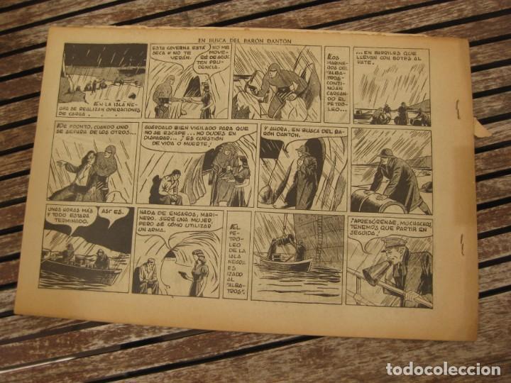 Tebeos: gran lote 67 el hombre enmascarado hispano americana de ediciones originales años 40 - Foto 89 - 164143534