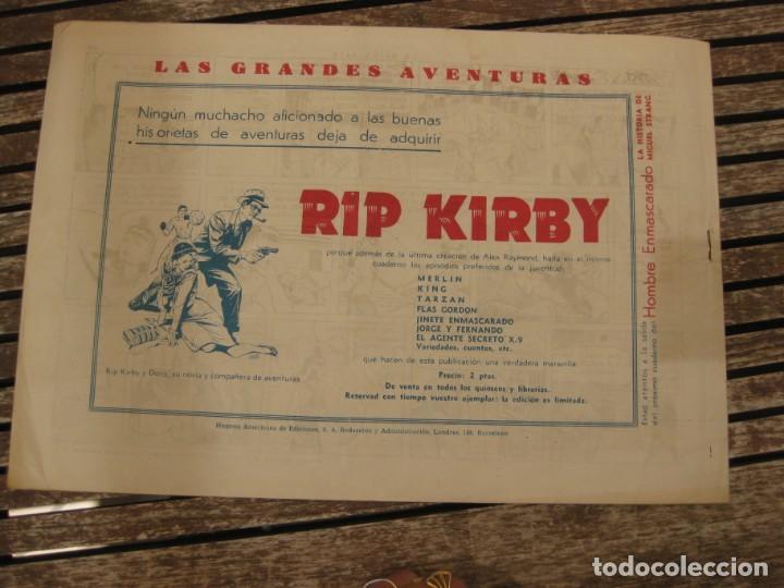 Tebeos: gran lote 67 el hombre enmascarado hispano americana de ediciones originales años 40 - Foto 98 - 164143534