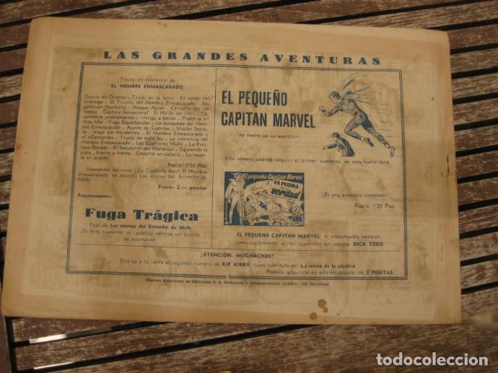 Tebeos: gran lote 67 el hombre enmascarado hispano americana de ediciones originales años 40 - Foto 100 - 164143534