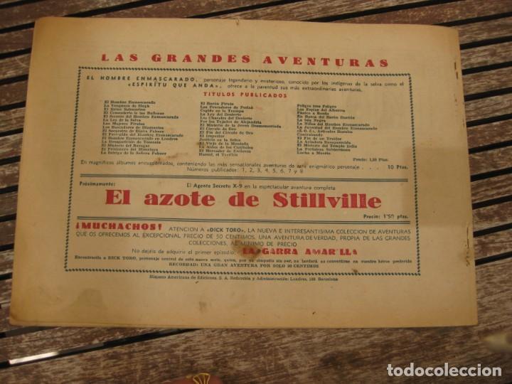 Tebeos: gran lote 67 el hombre enmascarado hispano americana de ediciones originales años 40 - Foto 102 - 164143534