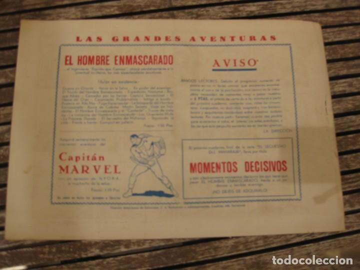 Tebeos: gran lote 67 el hombre enmascarado hispano americana de ediciones originales años 40 - Foto 108 - 164143534