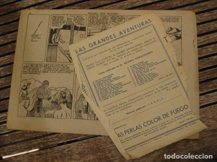 Tebeos: gran lote 67 el hombre enmascarado hispano americana de ediciones originales años 40 - Foto 114 - 164143534