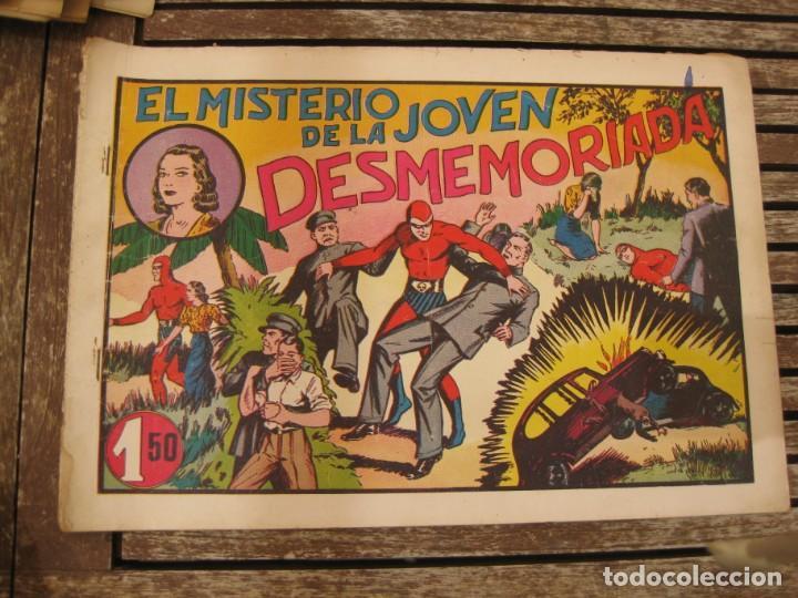 Tebeos: gran lote 67 el hombre enmascarado hispano americana de ediciones originales años 40 - Foto 123 - 164143534