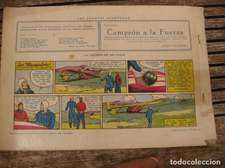 Tebeos: gran lote 67 el hombre enmascarado hispano americana de ediciones originales años 40 - Foto 124 - 164143534