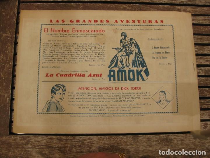 Tebeos: gran lote 67 el hombre enmascarado hispano americana de ediciones originales años 40 - Foto 126 - 164143534