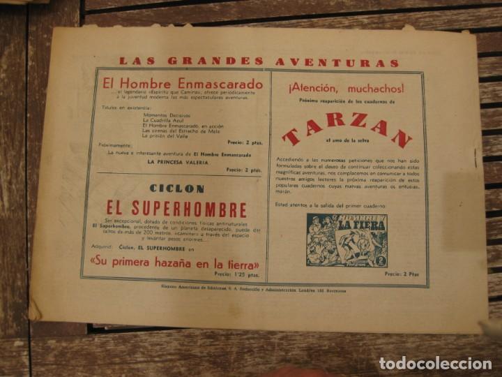 Tebeos: gran lote 67 el hombre enmascarado hispano americana de ediciones originales años 40 - Foto 128 - 164143534