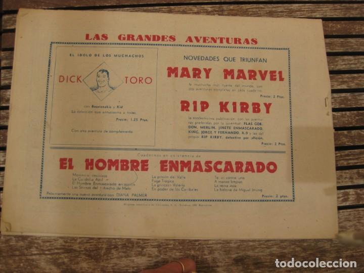Tebeos: gran lote 67 el hombre enmascarado hispano americana de ediciones originales años 40 - Foto 130 - 164143534
