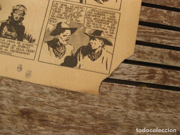 Tebeos: gran lote 67 el hombre enmascarado hispano americana de ediciones originales años 40 - Foto 133 - 164143534