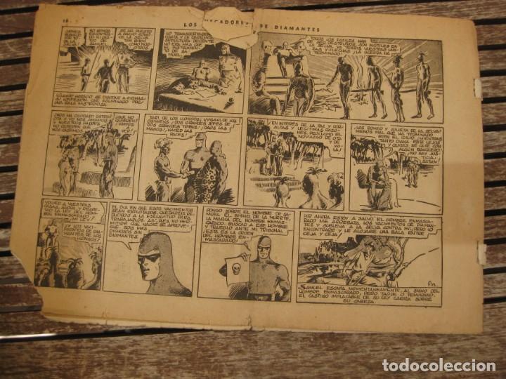 Tebeos: gran lote 67 el hombre enmascarado hispano americana de ediciones originales años 40 - Foto 134 - 164143534