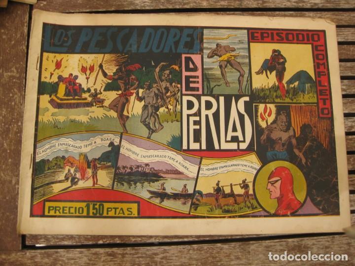 Tebeos: gran lote 67 el hombre enmascarado hispano americana de ediciones originales años 40 - Foto 135 - 164143534