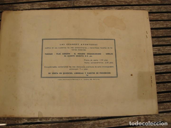 Tebeos: gran lote 67 el hombre enmascarado hispano americana de ediciones originales años 40 - Foto 136 - 164143534