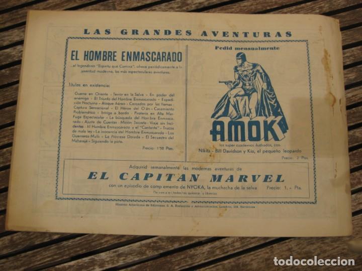 Tebeos: gran lote 67 el hombre enmascarado hispano americana de ediciones originales años 40 - Foto 138 - 164143534