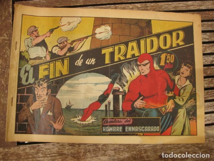 Tebeos: gran lote 67 el hombre enmascarado hispano americana de ediciones originales años 40 - Foto 139 - 164143534