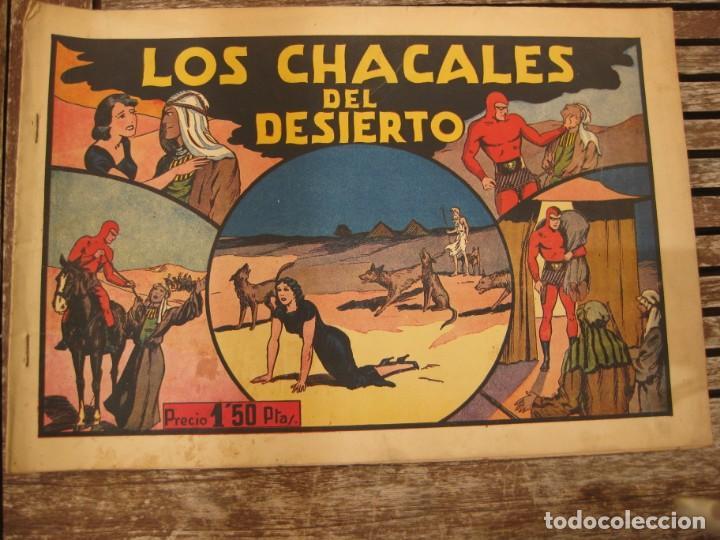 Tebeos: gran lote 67 el hombre enmascarado hispano americana de ediciones originales años 40 - Foto 142 - 164143534