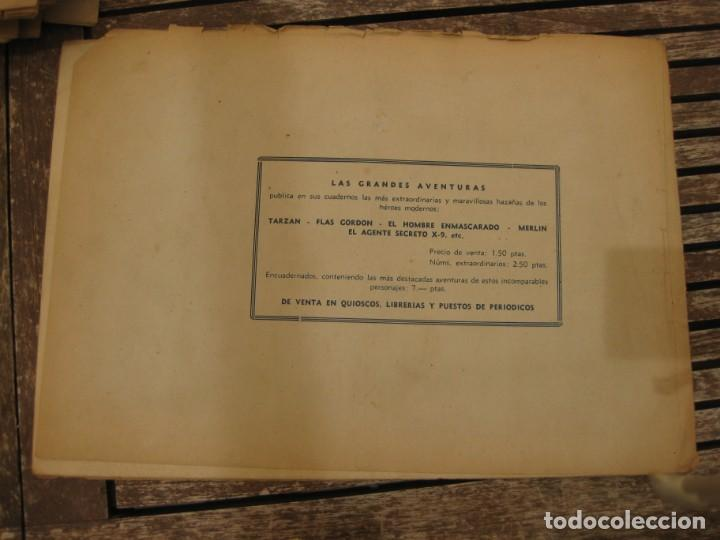 Tebeos: gran lote 67 el hombre enmascarado hispano americana de ediciones originales años 40 - Foto 145 - 164143534