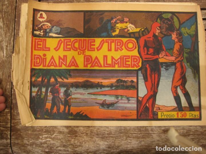 Tebeos: gran lote 67 el hombre enmascarado hispano americana de ediciones originales años 40 - Foto 146 - 164143534