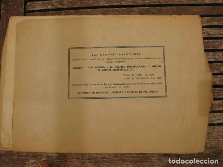 Tebeos: gran lote 67 el hombre enmascarado hispano americana de ediciones originales años 40 - Foto 148 - 164143534