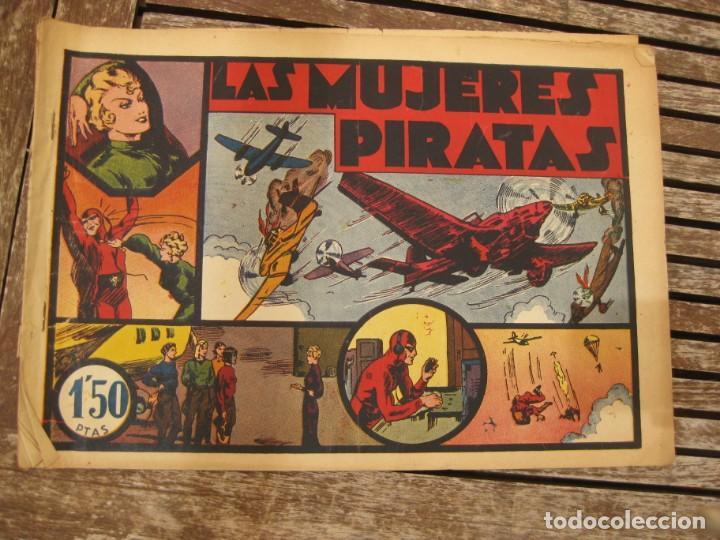 Tebeos: gran lote 67 el hombre enmascarado hispano americana de ediciones originales años 40 - Foto 149 - 164143534