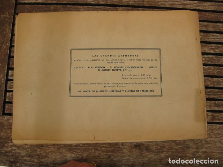Tebeos: gran lote 67 el hombre enmascarado hispano americana de ediciones originales años 40 - Foto 150 - 164143534