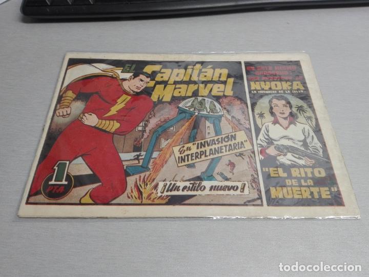 Tebeos: EL CAPITÁN MARVEL / LOTE CON 24 NÚMEROS / HISPANO AMERICANA ORIGINAL 1947 - Foto 2 - 164223218