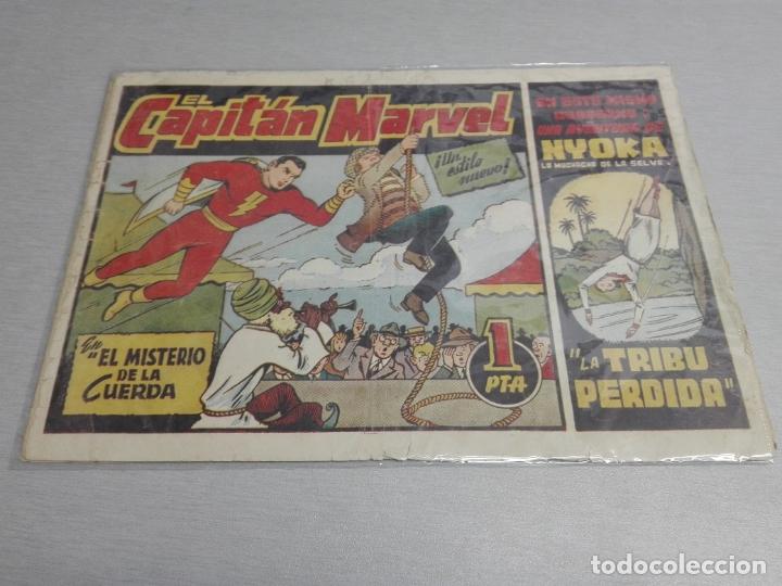 Tebeos: EL CAPITÁN MARVEL / LOTE CON 24 NÚMEROS / HISPANO AMERICANA ORIGINAL 1947 - Foto 4 - 164223218