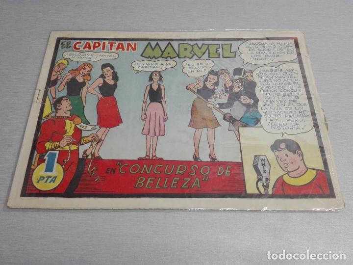 Tebeos: EL CAPITÁN MARVEL / LOTE CON 24 NÚMEROS / HISPANO AMERICANA ORIGINAL 1947 - Foto 6 - 164223218