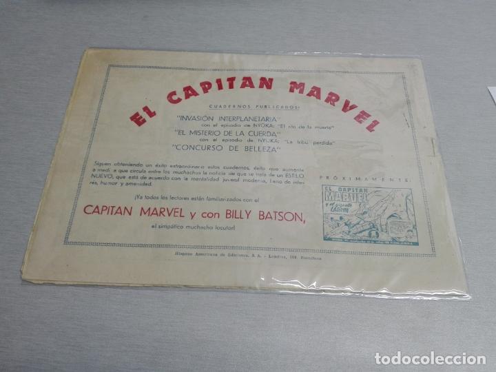 Tebeos: EL CAPITÁN MARVEL / LOTE CON 24 NÚMEROS / HISPANO AMERICANA ORIGINAL 1947 - Foto 9 - 164223218