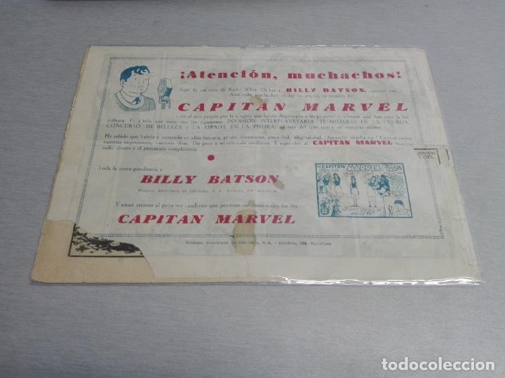 Tebeos: EL CAPITÁN MARVEL / LOTE CON 24 NÚMEROS / HISPANO AMERICANA ORIGINAL 1947 - Foto 11 - 164223218