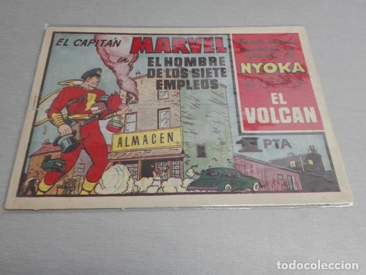 Tebeos: EL CAPITÁN MARVEL / LOTE CON 24 NÚMEROS / HISPANO AMERICANA ORIGINAL 1947 - Foto 14 - 164223218