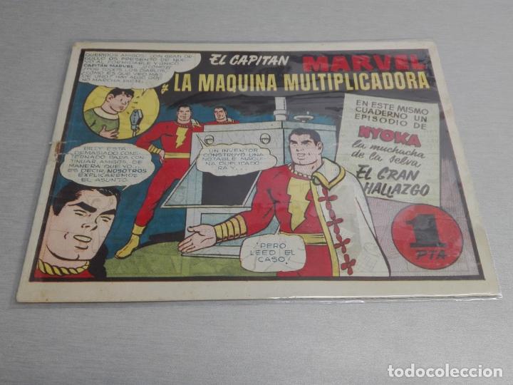 Tebeos: EL CAPITÁN MARVEL / LOTE CON 24 NÚMEROS / HISPANO AMERICANA ORIGINAL 1947 - Foto 16 - 164223218